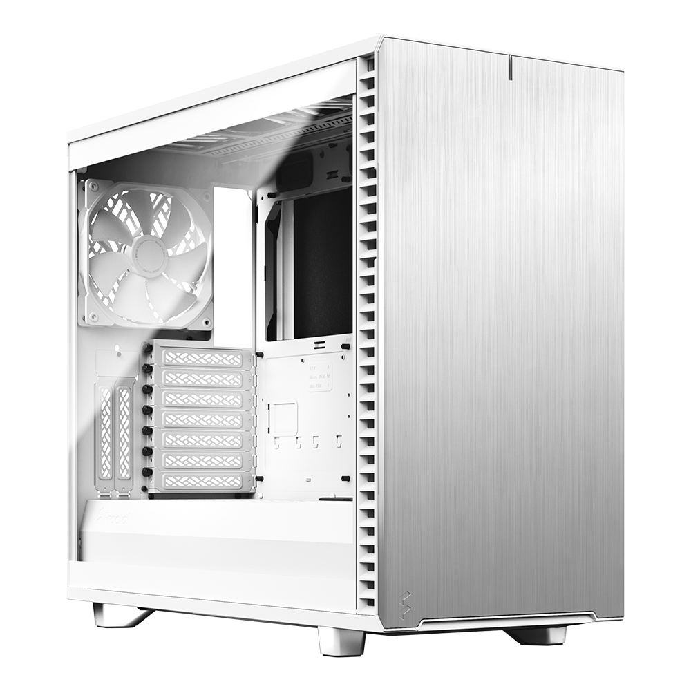 Fractal Design Define 7 White Clear Tint 강화유리