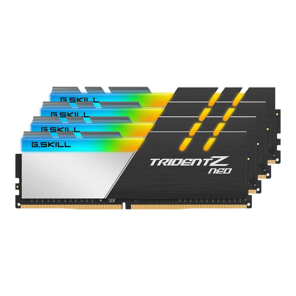 G.SKILL DDR4 128G PC4-28800 CL18 TRIDENT Z NEO (32Gx4)