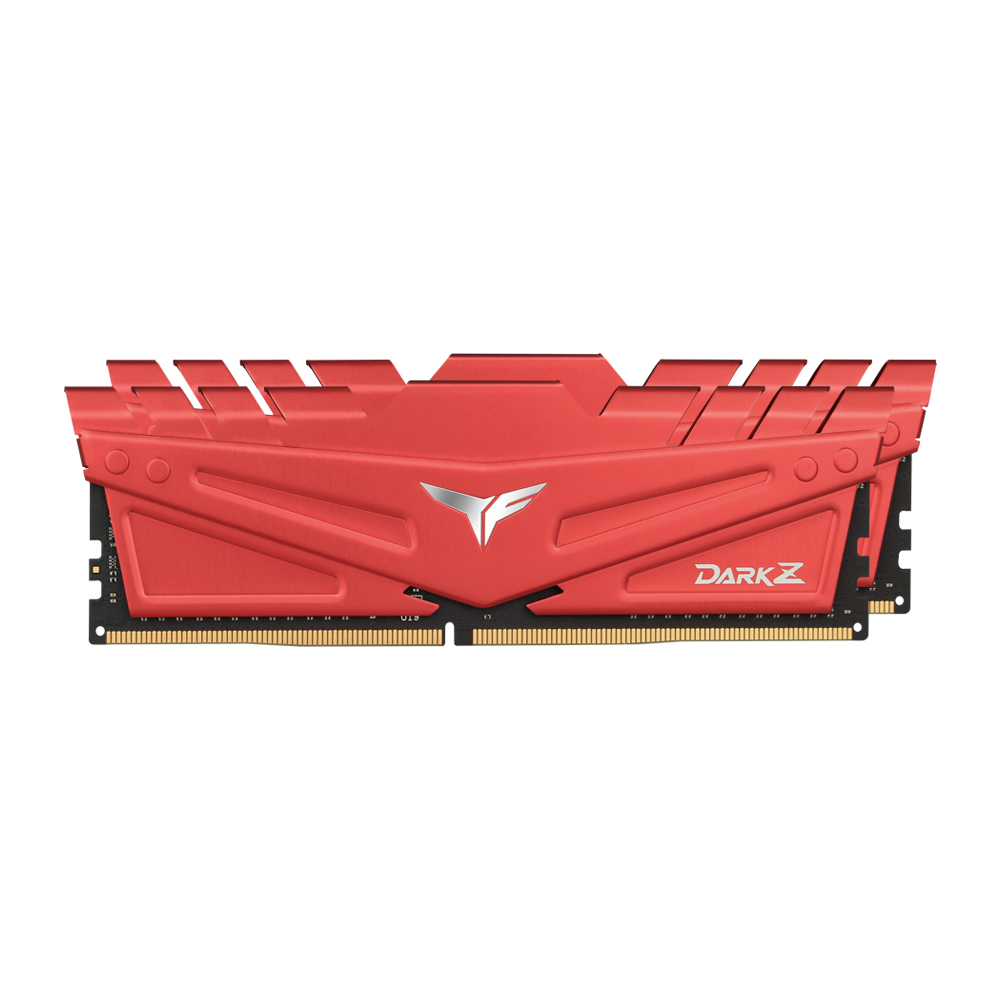 TeamGroup T-Force DDR4 64G PC4-25600 CL16 DARK Z RED (32Gx2)