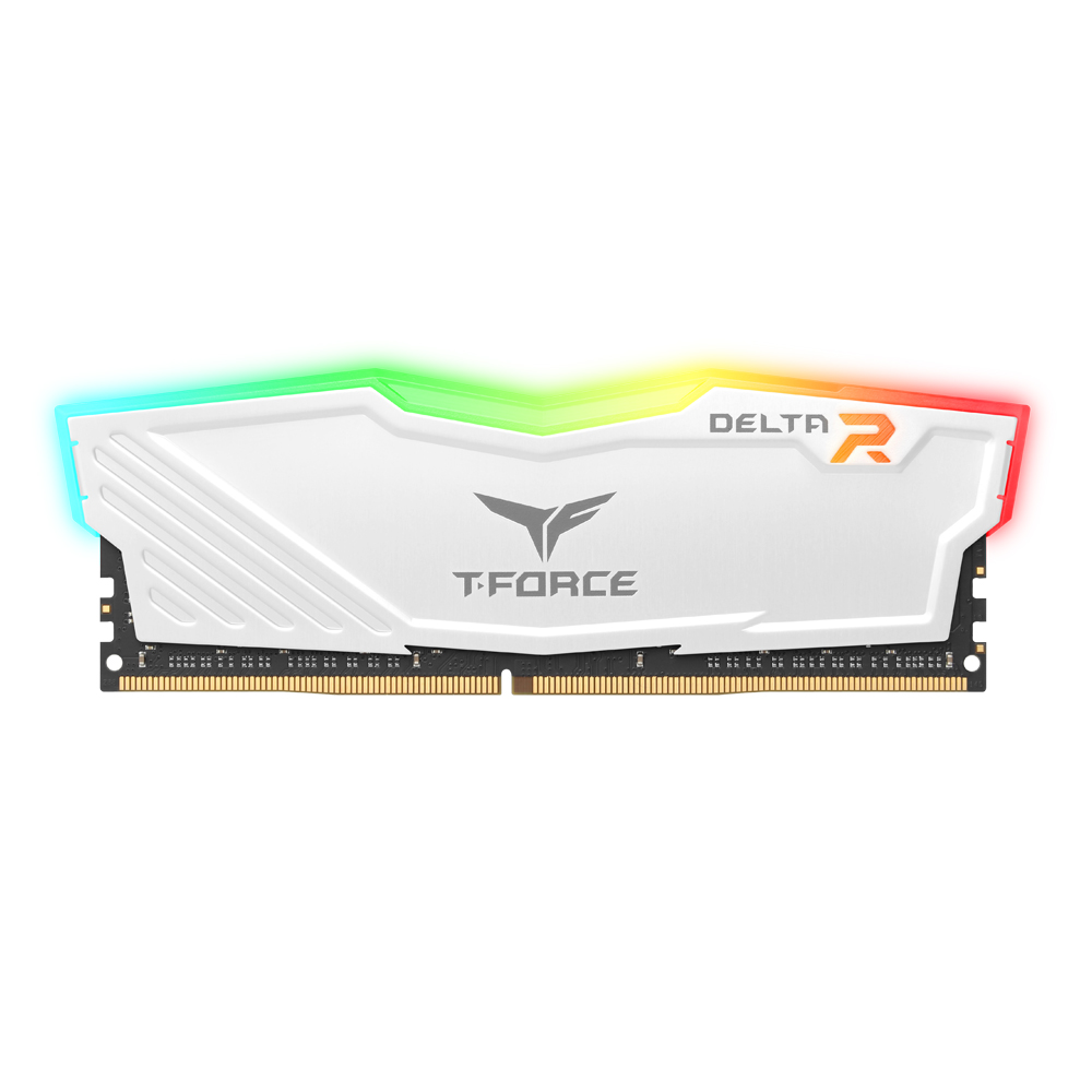 TeamGroup T-Force DDR4 32G PC4-25600 CL16 Delta RGB 화이트 서린