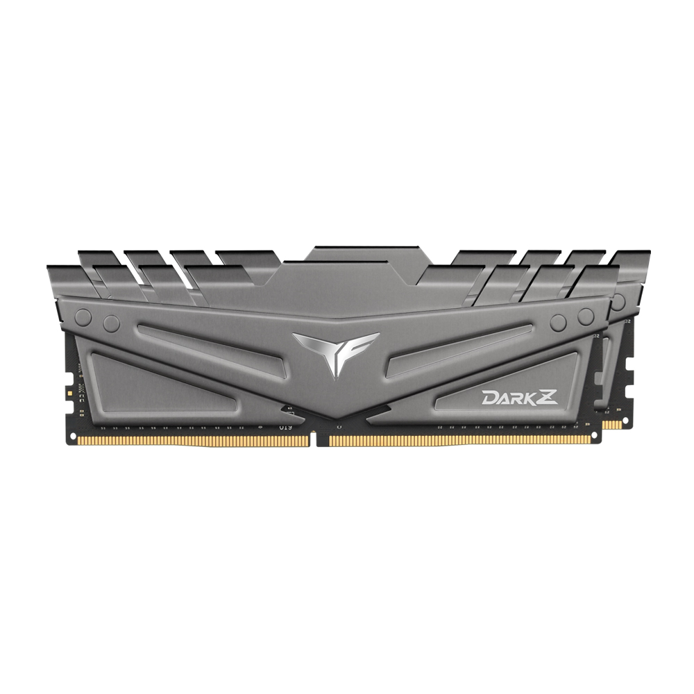 TeamGroup T-Force DDR4 64G PC4-25600 CL16 DARK Z GREY (32Gx2…