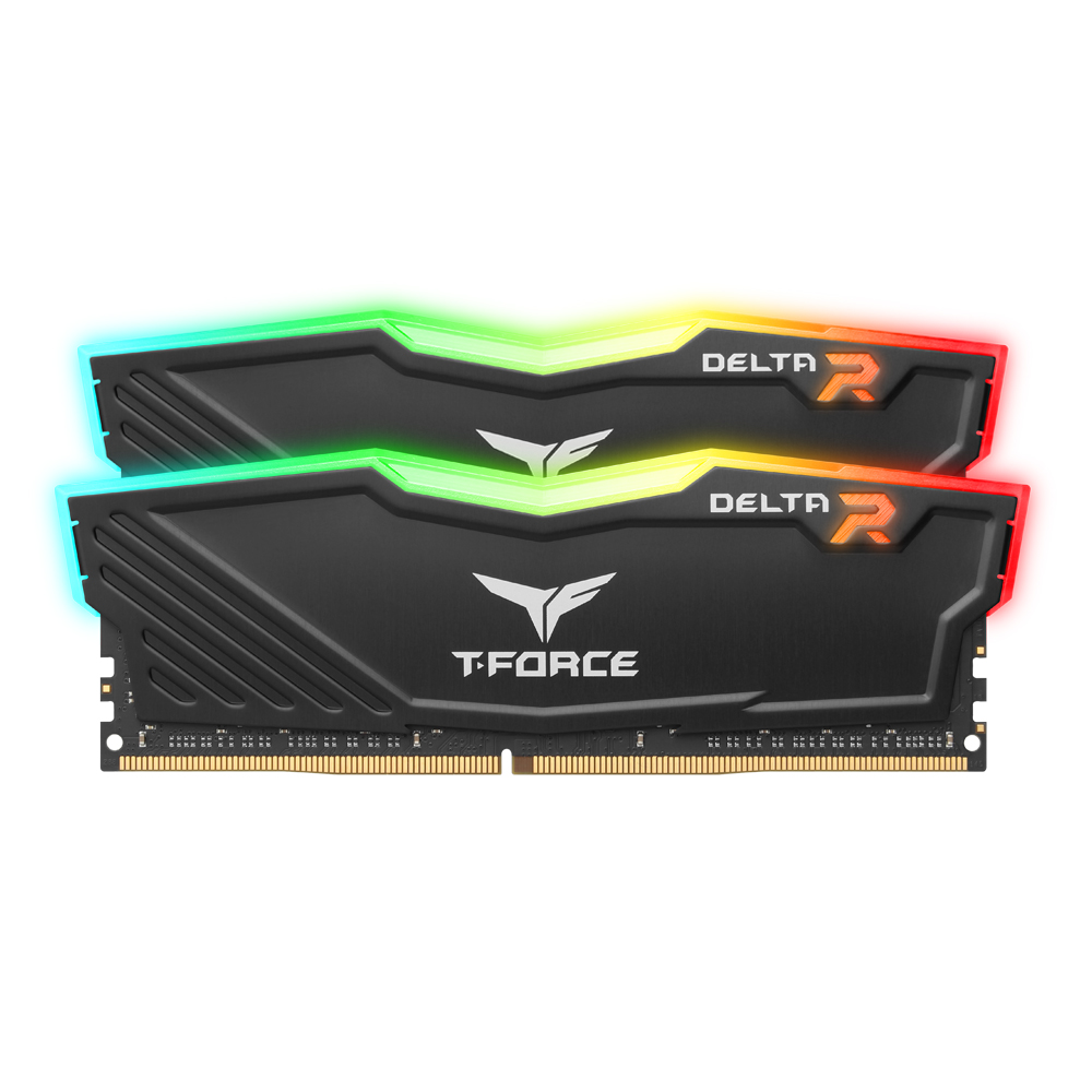 TeamGroup T-Force DDR4 64G PC4-25600 CL16 Delta RGB (32Gx2) …