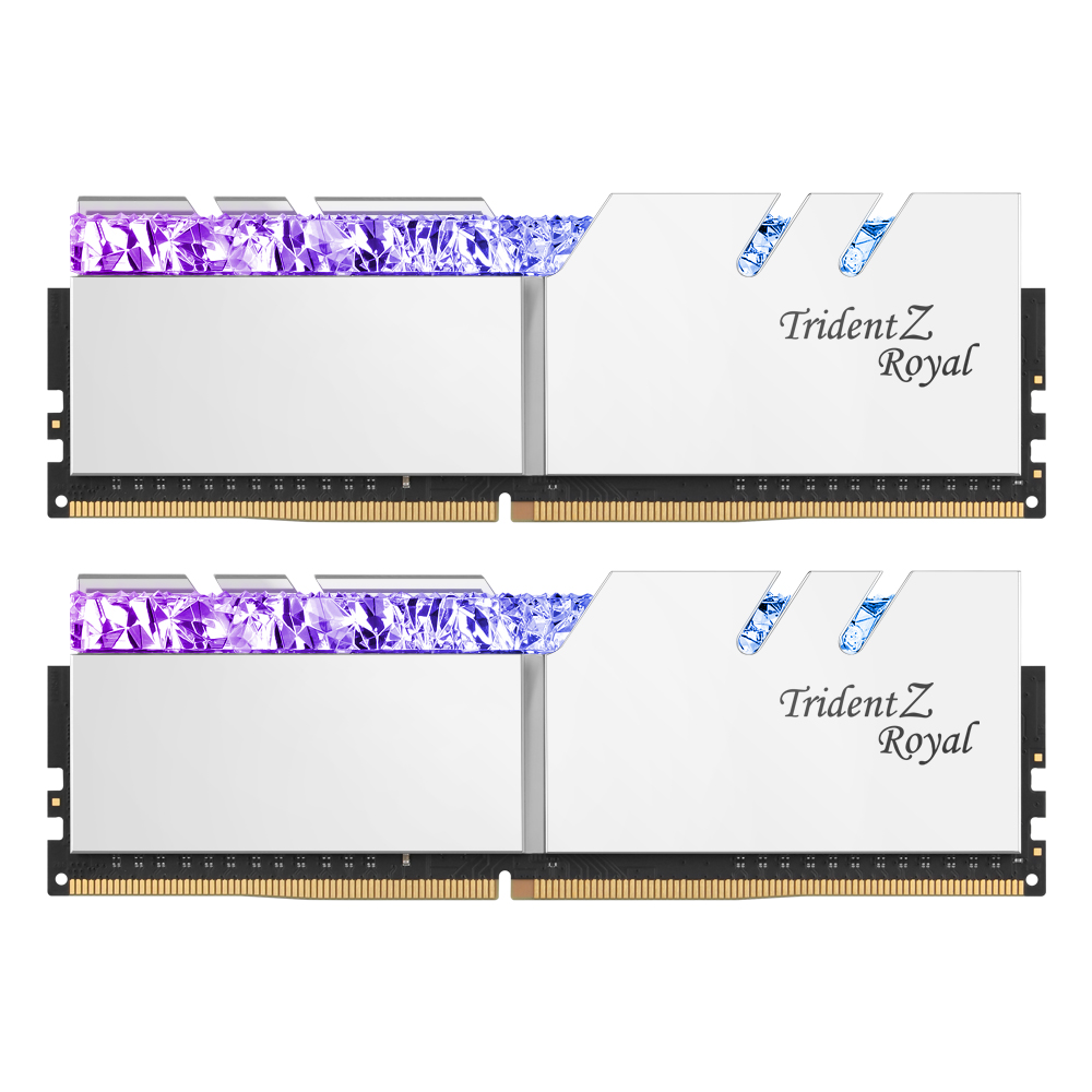 G.SKILL DDR4-4000 CL15 TRIDENT Z ROYAL 실버 패키지 (16GB(8Gx2))