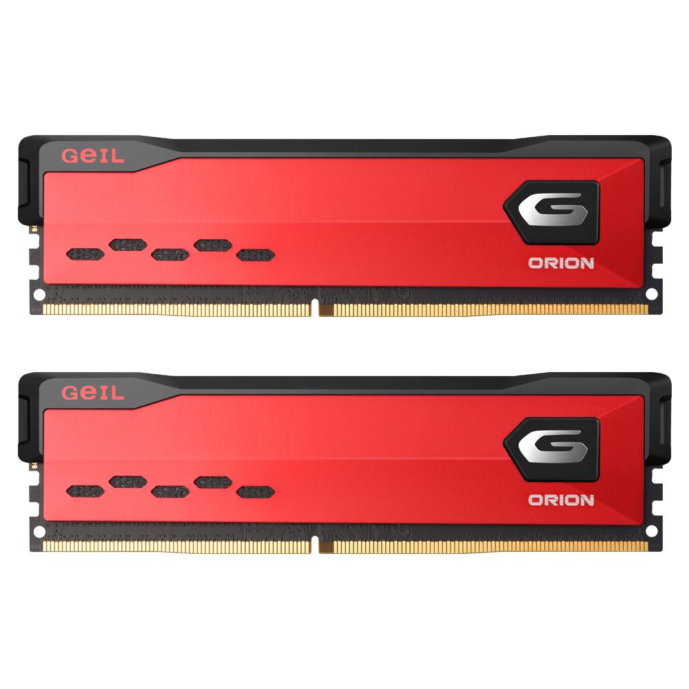 GeIL DDR4-3200 CL16-20-20 ORION Red 64GB(32Gx2)