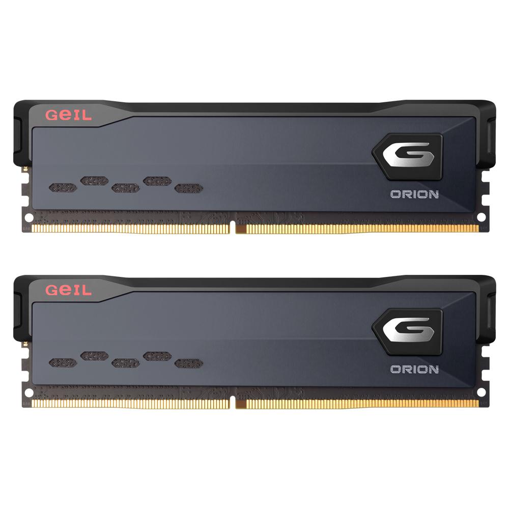GeIL DDR4-3600 CL18 ORION Gray 64GB(32Gx2)