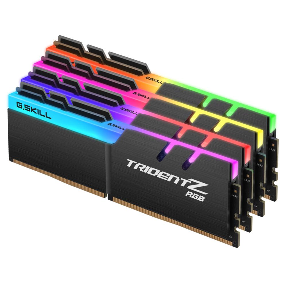 G.SKILL DDR4-3600 CL14 TRIDENT Z RGB 64GB(16Gx4)