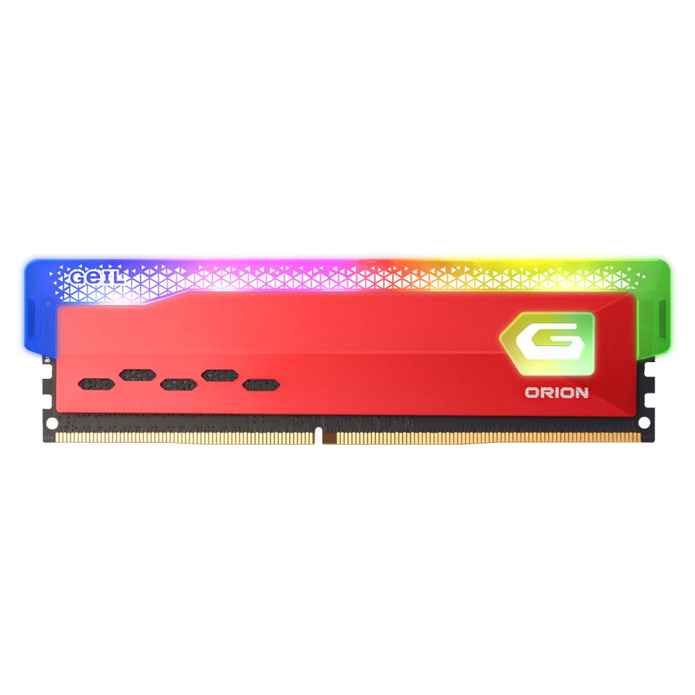 GeIL DDR4-2666 CL19 ORION RGB Red 16GB