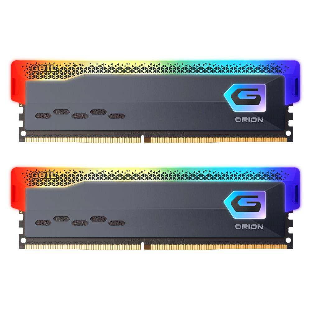 GeIL DDR4-3200 CL16 ORION RGB Gray 16GB(8Gx2)