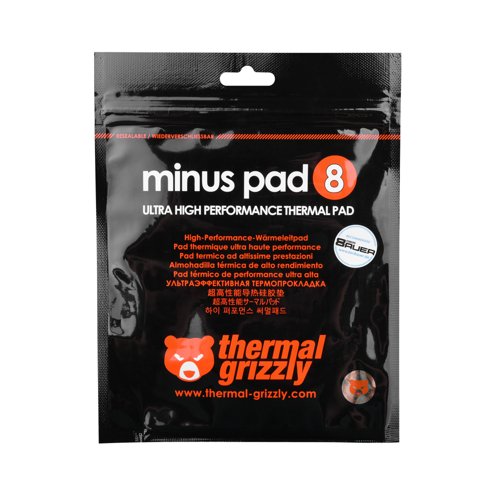 Thermal Grizzly Minus Pad 8 (100x100x1.0T)