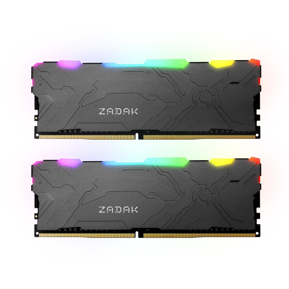 ZADAK DDR4-3200 CL16-20-20 MOAB RGB 16G(8Gx2)