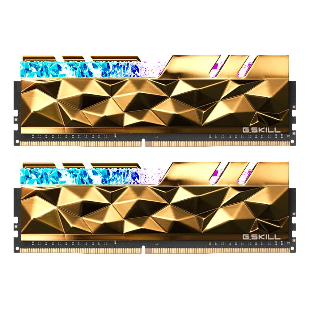 G.SKILL DDR4-4800 CL19 TRIDENT Z ROYAL ELITE 골드 16GB(8Gx2)
