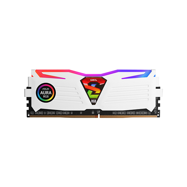GeIL DDR4-3600 CL18-22 SUPER LUCE RGB Sync 화이트 16GB(8Gx2)
