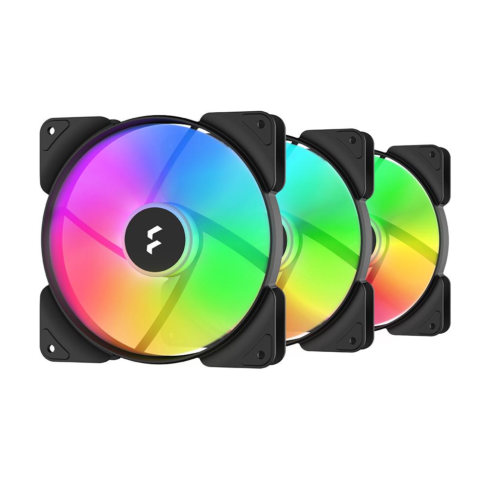 Fractal Design Aspect 12 RGB Black Frame 3Pack