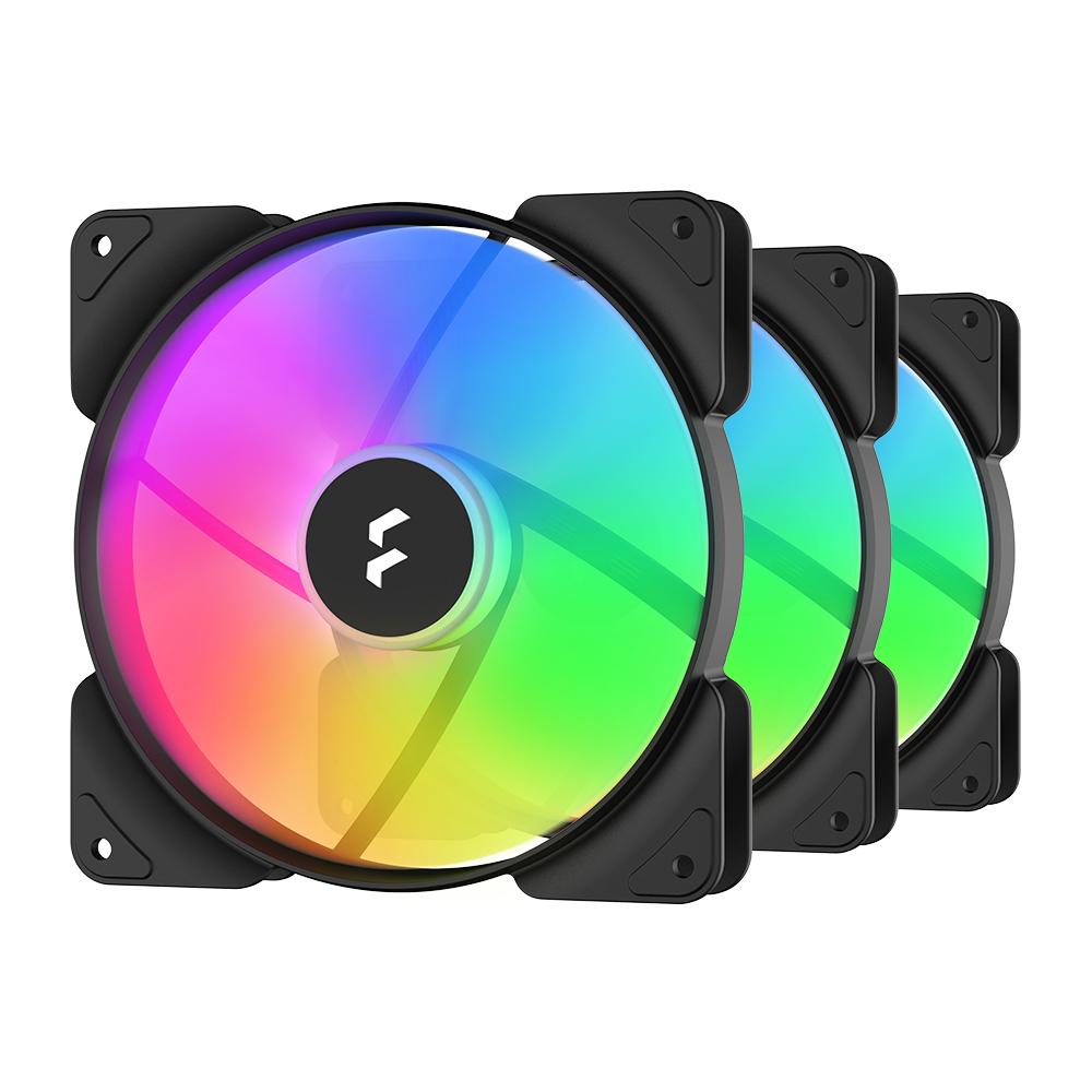 Fractal Design Aspect 14 RGB Black Frame 3Pack